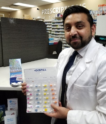 Nauman Shaikh, Manager and Owner at Medpoint Care Pharmacy in downtown London.