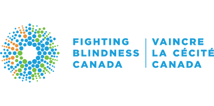 Fighting Blindness Canada Logo.