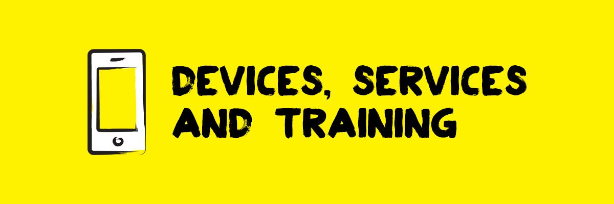 Devices, services and training - Smart phone icon