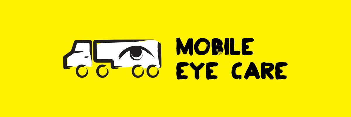 Mobile Eye Care and an icon of a truck with an eye on the trailer